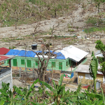 Soufriere Primary School after Hurricane Maria